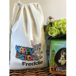 Easter gift bags personalised easter bunny gift bag freddie design negle Image collections