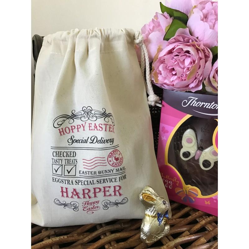 Gift bag personalised hoppy easter gift bag harper design negle Gallery