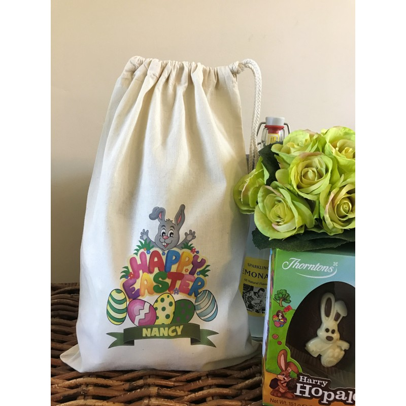 Gift bag personalised easter bunny gift bag nancy design negle Gallery